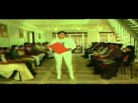 Aakhari Poratam Movie || Sridevi & Amrishpuri Introduction || Nagarjuna, Sridevi, Suhasini video