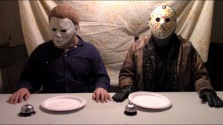 Jason Voorhees and Michael Myers Talk: Jason Vs Michael - Cute Edition