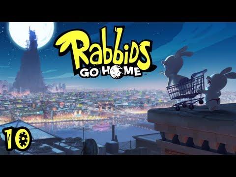 Let's Play Rabbids Go Home #10 [HD] - Ich gab Gas, ich will Spass!