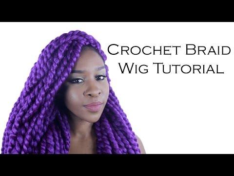 Crochet Braid Wig Tutorial How To Make & Do Everything!