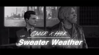 connor & hank // sweater weather