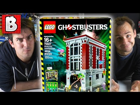 4600+ Parts!!! LEGO Ghostbusters Firehouse HQ Set 75827 | Live Build & Review! | BrickVault LIVE