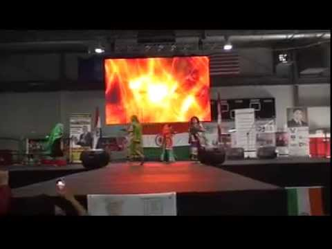 Mor Bani Thangat Kare By Sanskruti Performing Arts At Carassauga-2014 video