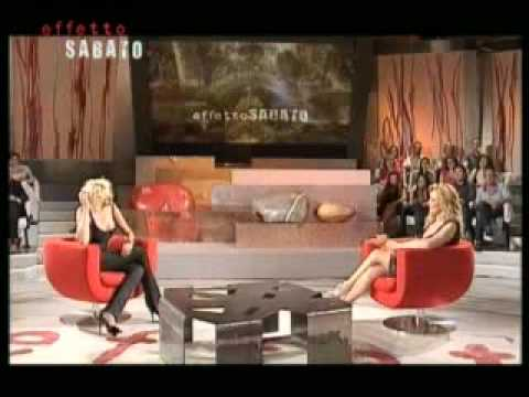 Lorella Landi con Ela Weber. Effetto Sabato