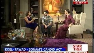 Star Trek Fawad Khan I am in love with my wife