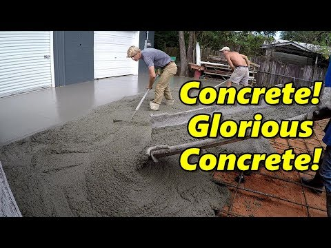 New Shop Concrete Slab!