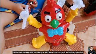 Trò Chơi Xe Ôtô Điều Khiển Từ Xa,Gà Chạy pin❤ Bé Huy TV ❤  Đồ Chơi Trẻ Em Baby Doli