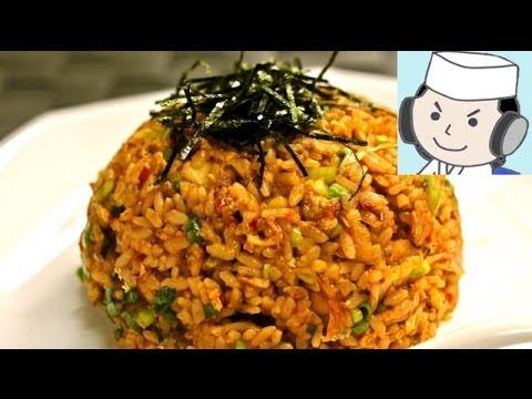 激辛!キムチ炒飯♪ Super hot ! Kimchi Fried Rice♪