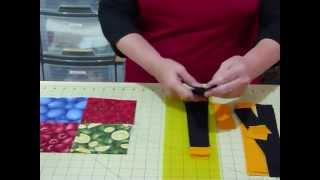 "How to make a Simply Sashed 4-patch quilt using 5"" squares - Quilting Tips & Techniques 101"