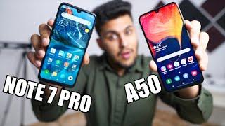 Koi Sach Kyu Nahi Bol Raha? - Redmi Note 7 Pro VS Samsung Galaxy A50