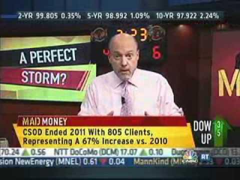 Cornerstone OnDemand - Mad Money CNBC