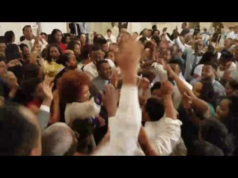 Bride and Groom singing Teddy Afro - Ethiopia on their Wedding