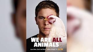 Cricketer Adam Zampa Bats for Animals in New PETA Campaign