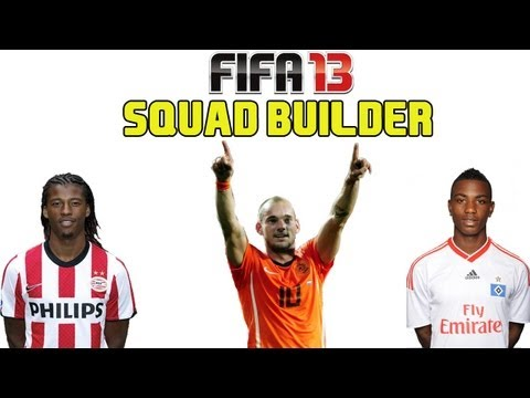 FIFA 13 Ultimate Team - Squad Builder - NETHERLANDS