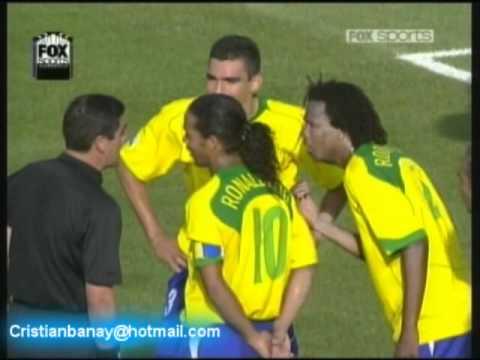Brasil 3 Alemania 2 Copa Confederaciones 2005 (Resumen Completo)