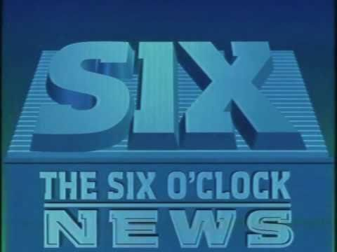 BBC Six O'Clock News - c1986