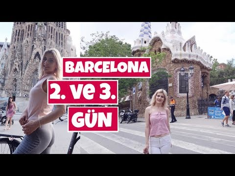 BARCELONA   Park Güell, Sagrada Familia, BİSİKLET