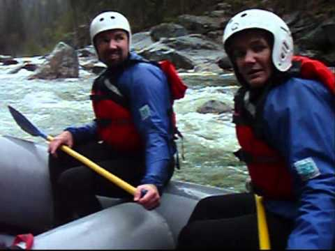 Rafting the North Fork Stanislaus River