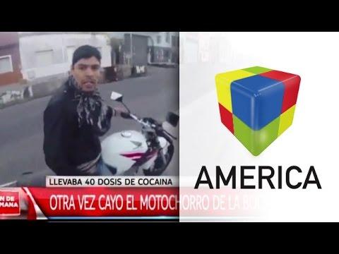 Detuvieron otra vez al motochorro de La Boca: tenía cocaína y armas blancas