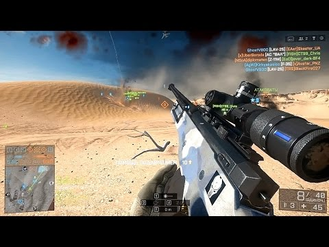 Download Lagu Battlefield 4   L96A1 Moments   720p 60 fps MP3 Free
