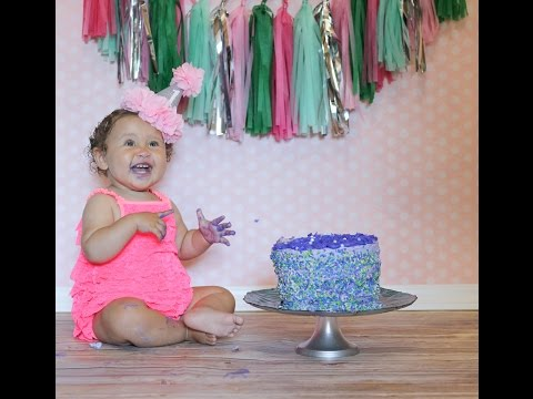 HAPPY FIRST BIRTHDAY, VIOLET! #1