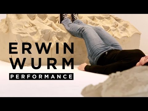 ERWIN WURM | Performance | Wittgensteinian Grammar of Physical Education