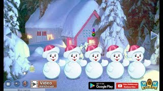 Hiding Santa Gift Escape walkthrough Wowescape.