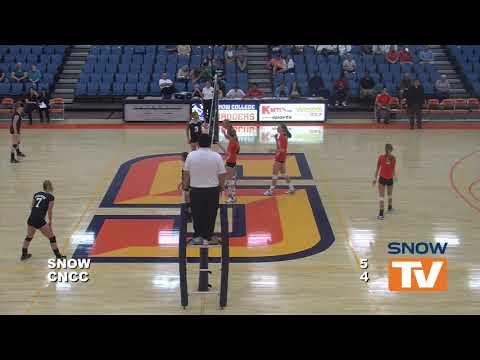Snow College Volleyball vs  Colorado Northwestern Community College 9-13-2013