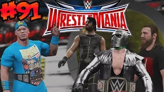 WWE 2K16 - FINAL ÉPICO en Wrestlemania - Fatal 4 Way