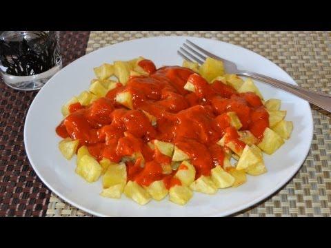 Patatas Bravas | Recetas de aperitivos y tapas