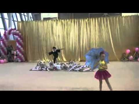 Показательное выступление по художественной гимнастике 33 коровы&quot