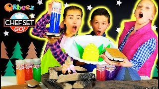 Chef Set Go! Goes Camping - Best Camping Party Foods! | Official Orbeez