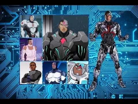 Cyborg - Evolution in TV and Cinema