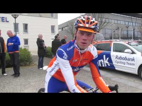 Lars Boom explains why he'll use his 'cross bike for Paris-Roubaix