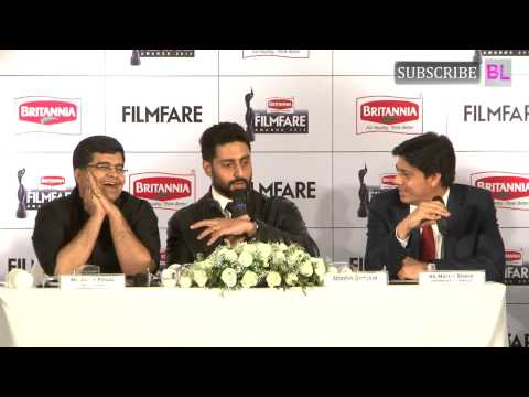 Press Conference With Abhishek Bachchan For 60th Britannia Filmfare Awards | Part 3