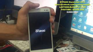 Starxtrem5 REMOVE FRP BYPASS GOOGLE ACCOUNT 2016 ISSAMGSM