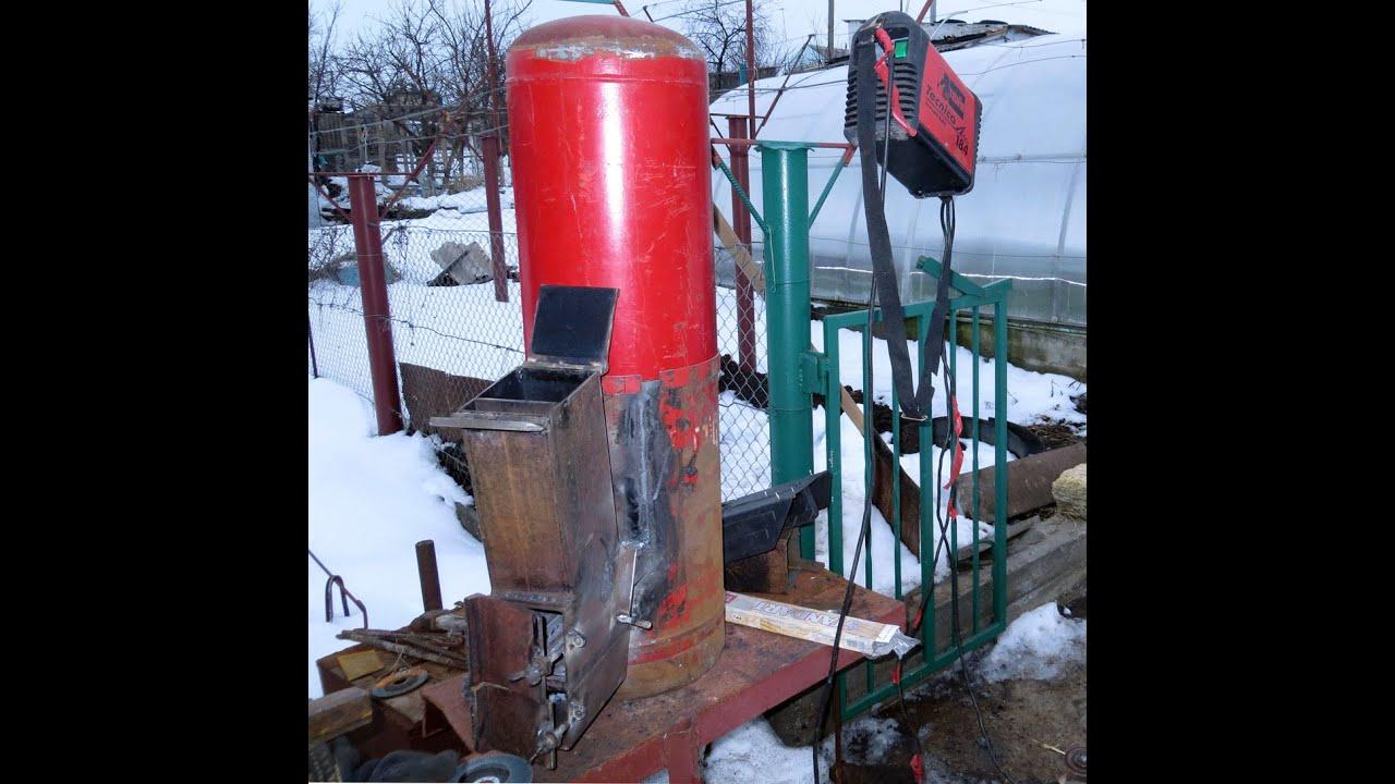 Ракетная печка своими руками