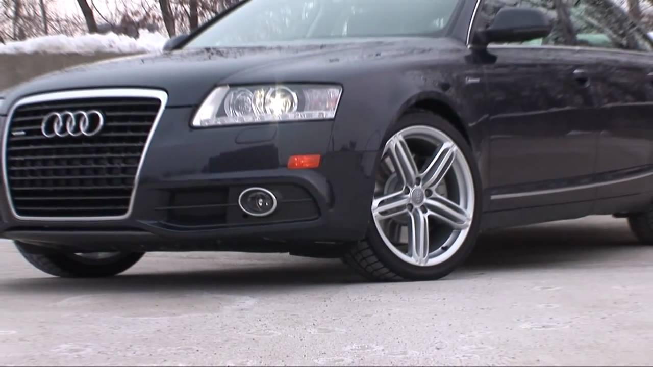 2011 audi a6 3 0t drive time review youtube. Black Bedroom Furniture Sets. Home Design Ideas
