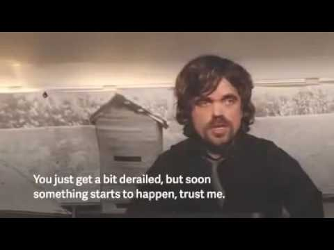 Peter dinklage 2012 commencement speech