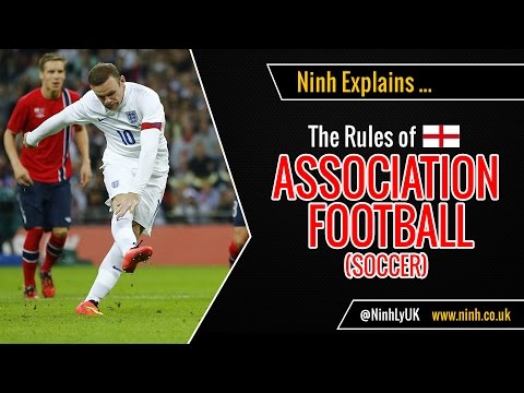 The Rules of Football (Soccer or Association Football) - EXPLAINED!