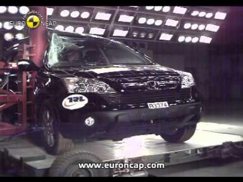 Euro ncap honda cr v 2007 crash test youtube for Honda crv crash test