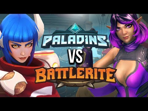 Paladins VS Battlerite! Which One Should YOU Play? (Comparison)