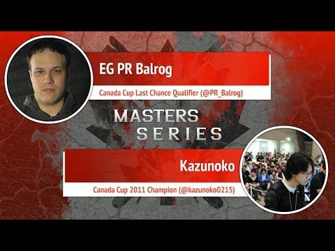 USFIV: EG PR Balrog vs Kazunoko - Canada Cup Master Series