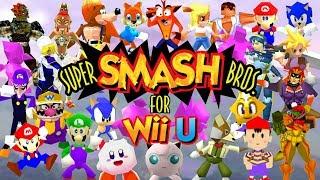 Super Smash Bros. 64 for Wii U: N64 Skins in Super Smash Bros. Wii U! [Mods]