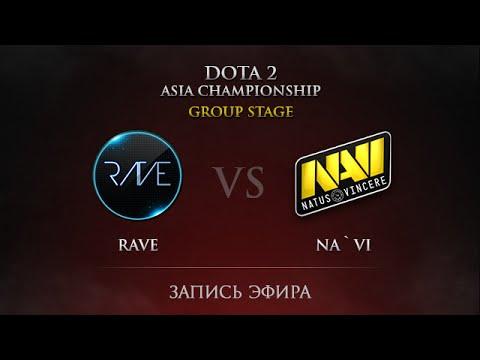 Rave vs Na`Vi, DAC 2015 GroupStage, Day 4, Round 34