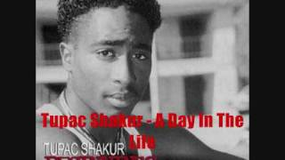 Watch Tupac Shakur A Day In The Life video