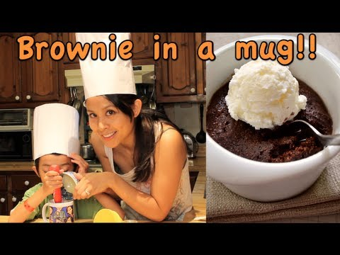 Brownie in a mug!