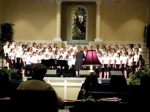 HTMS Chorus - Laudate Dominum Omnes Gentes (Patti Drennan) 3-14-2011