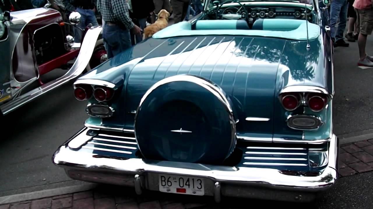 1958 Pontiac Bonneville Convertible Youtube