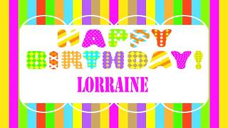 Lorraine   Wishes & Mensajes - Happy Birthday